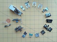 Gyorstalpaló – a varrógéptalpak használatához | Sewing Patterns, Textiles, Fabric, Hanukkah, Allah, Wreaths, Decor, Tejido, Tela