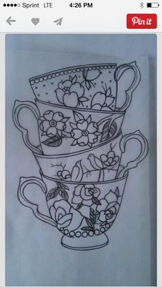 #teacups #tattoos