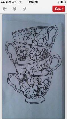 #teacups #tattoos
