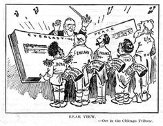 Treaty of Versailles: Was forced to be signed