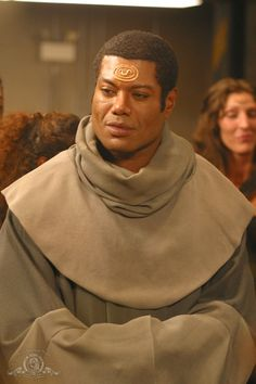 Act IV, Sc 1: Tarsus : Leonine (John R) as Teal'c from Stargate -- maybe more Egyptian? [Stargate SG-1]