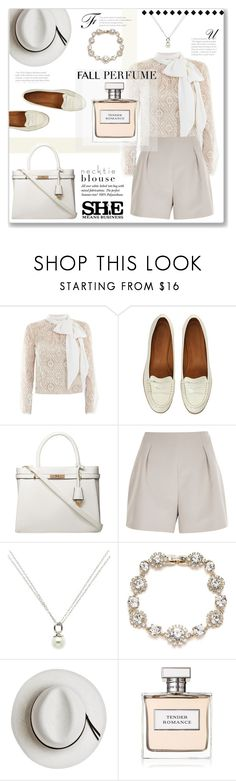 """""""#212) TENDER ROMANCE"""" by fashion-unit ❤ liked on Polyvore featuring Victor Xenia, Dorothy Perkins, River Island, Finesse, Marchesa, Calypso Private Label, Ralph Lauren, totebag, fallfun and falltrend"""
