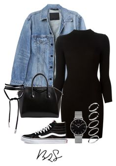 """#827"" by blendingtwostyles ❤ liked on Polyvore featuring Y/Project, Maison Margiela, Givenchy, Topshop, Vans and ASOS"