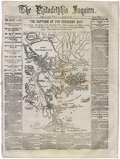 Civil War Map, 1862