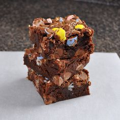 Cadbury Mini Egg Brownies (c : Breanna's Recipe Box)