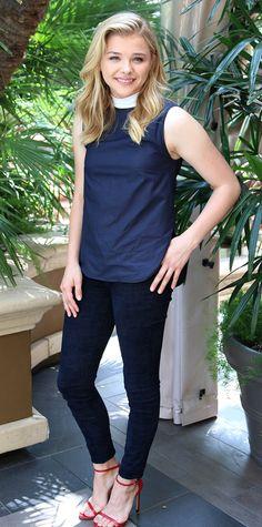 Chloe Grace Moretz's Best Street Style Looks - August 9, 2014 from #InStyle