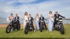 Great shot of the wedding party!   Harley-Davidson of Long Branch www.hdlongbranch.com