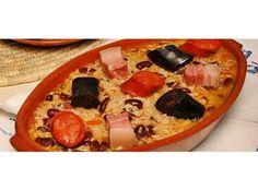 Arroz de feijão com enchidos - http://www.receitasparatodososgostos.net/2016/11/19/arroz-de-feijao-com-enchidos/