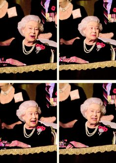 Queen Elizabeth II at Royal Albert Hall  for Annual  Festival of Remembrance.  November 7th 2015