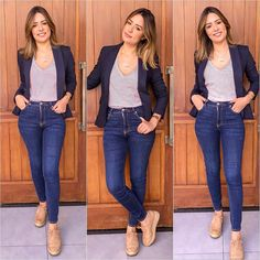 Fashion Tips Outfits .Fashion Tips Outfits Casual Work Outfits, Blazer Outfits, Business Casual Outfits, Mom Outfits, Work Attire, Work Casual, Casual Chic, Casual Looks, Cute Outfits