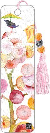 Umbrella Tree - Beaded Bookmark