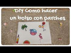Diy - Bolso con parches y pins ¡¡¡ SUPER FÁCIL !!!   candermich - YouTube