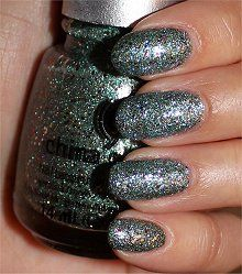 China Glaze Optical Illusion Swatches & Review - A NO BUY COLOR!!