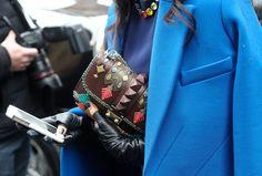 Street Style Accessories #NYFW