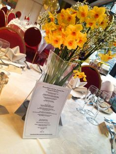 A beautiful table set-up for a very special occasion in the Gallery 26. http://www.bedford-hotel.co.uk/events