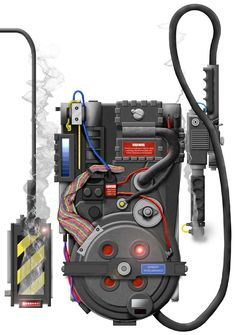 Ghostbusters Proton Pack and Trap