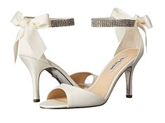Nina Vinnie - i like the embellished ankle strap. and the ankle strap also helps so the shoe stays put!