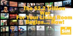 The $2.2 Trillion War For Your Living Room Begins Now The Power Of The Internet