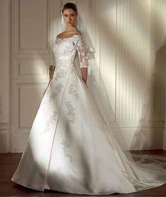 97f7586703163 فستان فرح نصف الدنيا Gorgeous Wedding Dress