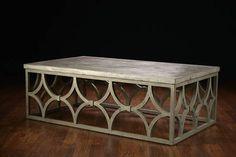 Outdoor Concrete Rowan Coffee Table - Mecox Gardens