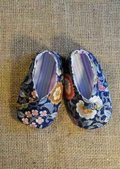 Kimono Baby Shoes Pattern