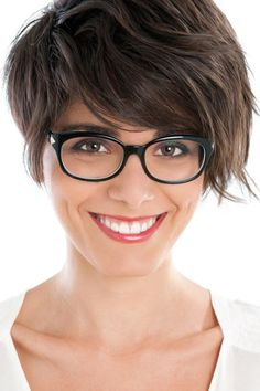 Short Hair With Bangs - Perfect for wavy or curly hair.......