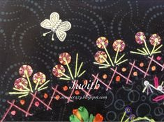 Judith simply loves crazy quilting - and it shows in her work.........      As from previous posts - you will notice that shehas a thing a...