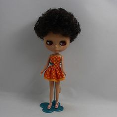 12-034-Neo-Blythe-Doll-Dark-Skin-Nude-Doll-from-Factory-JSW48009-Gift