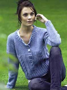 Ravelry: Design 14 Sweater pattern by Jenny Watson