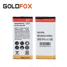 Quality 1pc 2150mAh BL-5H Replacement Commercial Battery For Nokia Lumia 630 638 636 635 Mobile Phone Batteria