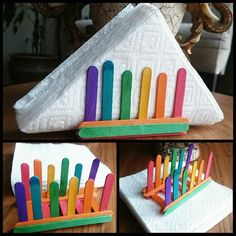 40 Artes com Palito de Picolé para Dar e Vender! (Ideias e DIY) - Herzlich willkommen Diy Home Crafts, Diy Arts And Crafts, Creative Crafts, Crafts To Make, Easy Crafts, Crafts For Kids, Popsicle Stick Crafts, Popsicle Sticks, Craft Stick Crafts