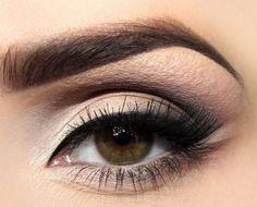 Smokey Cat Eye makeup for sagging eyelids :: one1lady.com :: #makeup #eyes #eyemakeup