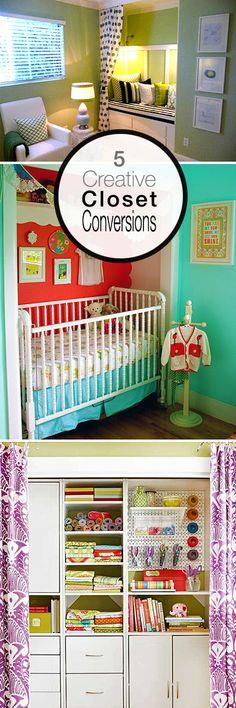 Got Closets? 5 Closet Conversions for Small Homes!