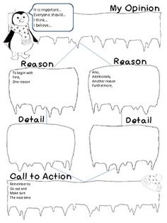 Persuasive Writing Graphic Organizers and Rubric