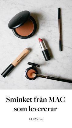 Amanda på FORNI har testat sminkprodukterna från MAC Cosmetics. I artikeln får ni läsa om produkternas hållbarhet, konsistens, känsla och pigment.