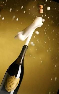 who loves champagne and is ready celebrate