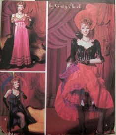 Simplicity 9899 Saloon girl costume pattern by retroactivefuture, $15.00