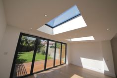 glass panel in extension roof - Google Search