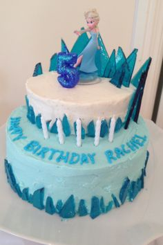 Frozen cake- this one looks pretty easy. @Holly Hanshew Ellis