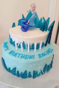 Frozen cake- this one looks pretty easy. @Holly Hanshew Ellis