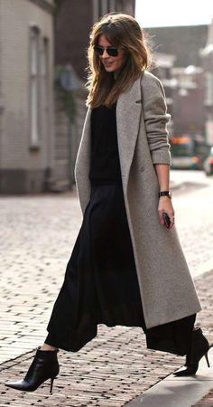 Winter outfits with different styles for working and professional women.You can wear classy, stylish winter outfits in office and meeting and look stunning. Komplette Outfits, Winter Outfits, Casual Outfits, Fashion Outfits, Beste Outfits, Winter Clothes, Trend Fashion, Look Fashion, Fashion Coat