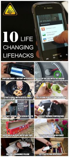 10 Life-Changing Life Hacks - You Can Try Right Now #tips #tricks #summer