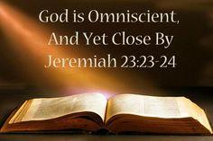 Jeremiah 23:23-24 - Google Search