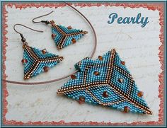 triangle turquoise copper | Flickr - Photo Sharing!