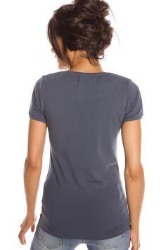 T-shirt femme T- REMEMBER PINK et INDIGO Indigo