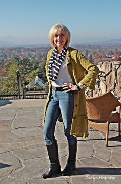 Real life fashion for women over 50.
