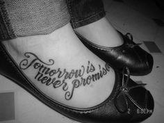 Foot Tattoos by BlaqqCat Tattoos, via Flickr