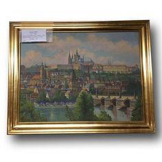 Obraz Prahy - Václav Stein    Nový Antik Bazar - Starožitnosti | Kategorie produktu Dekorace