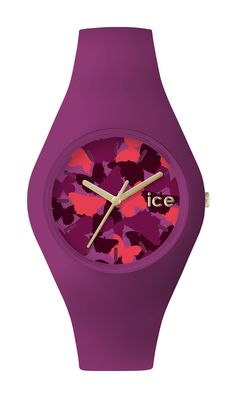 The Ice-Fly is the latest collection from Ice-Watch, featured here in Damson
