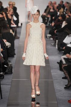 Chanel Spring 2009 Couture Fashion Show - Jennifer Messelier